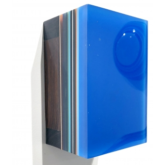 #9 Desert Iron Wood, Royal Blue
