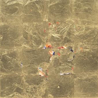 Self-Emergent Painting Reverse Glass No.40